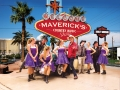 Mavericks Vegas-groß