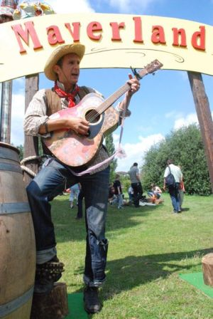 Cowboy Jim aus texas