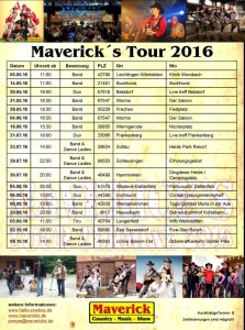 Mavericks Termine 2016