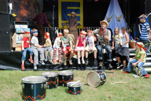 Westernparty-Kindershow